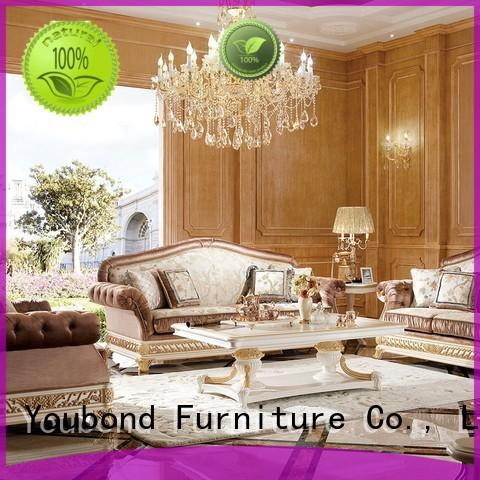 Senbetter french white living room furniture for villa