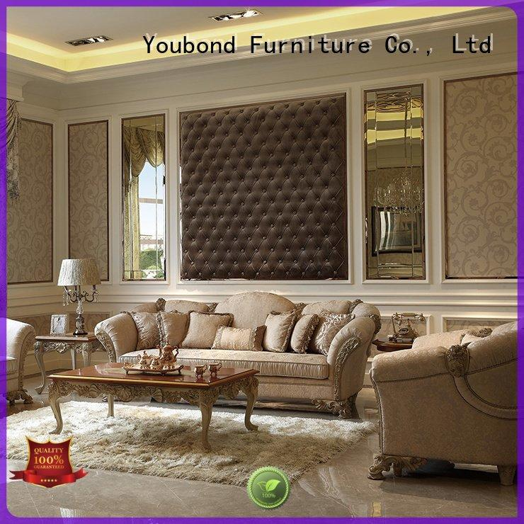 Senbetter luxury classic delicate white living room furniture dubai