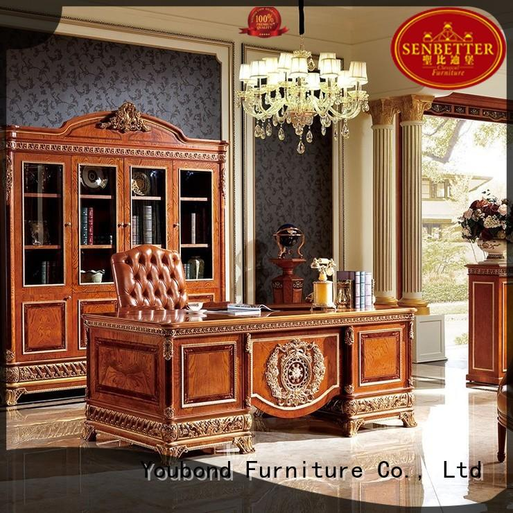 Senbetter royal traditional office furniture with office writing desk for home