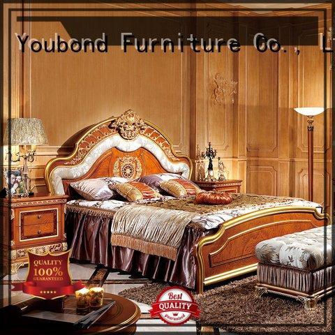 solid classic design Senbetter oak bedroom furniture