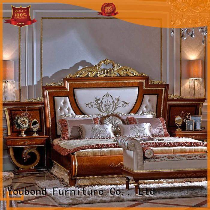 black best bedroom furniture with chinese element for royal home and villa