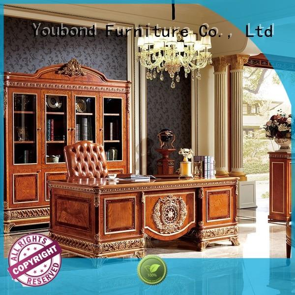 Hot antique classic office furniture veneer louis Senbetter Brand
