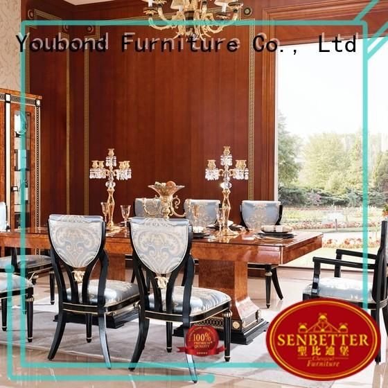 modern natural wood dining table manufacturer for sale
