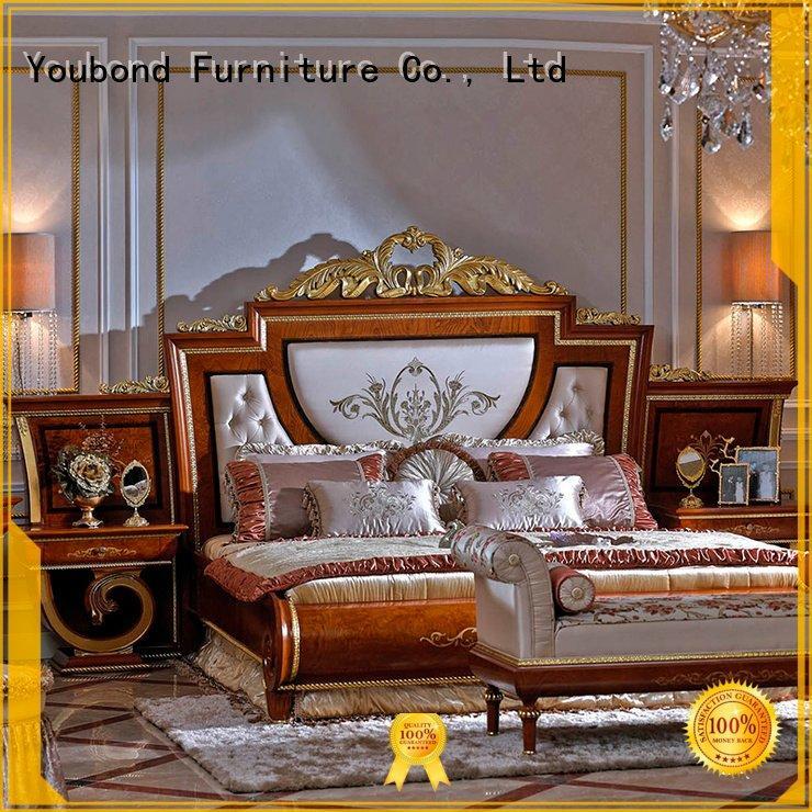 bedroom mahogany veneer style Senbetter solid wood bedroom furniture
