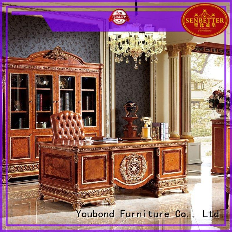 Senbetter classic office furniture with office writing desk for hotel