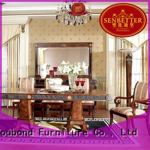 hand carving classic dining room manufacturer for sale Senbetter