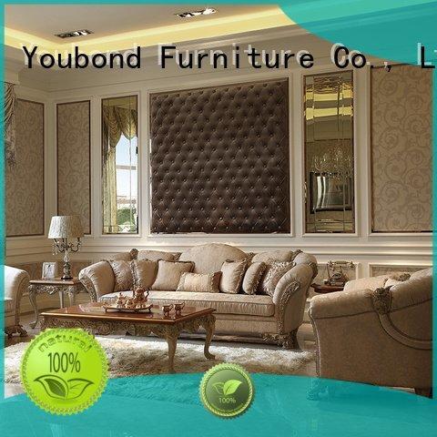 Custom flower classic living room furniture latest white living room furniture