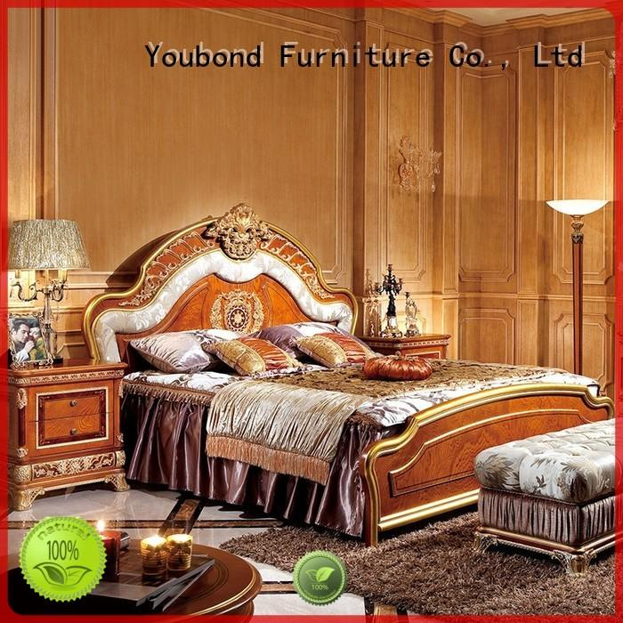 neo luxury bedroom furniture with white rim for sale