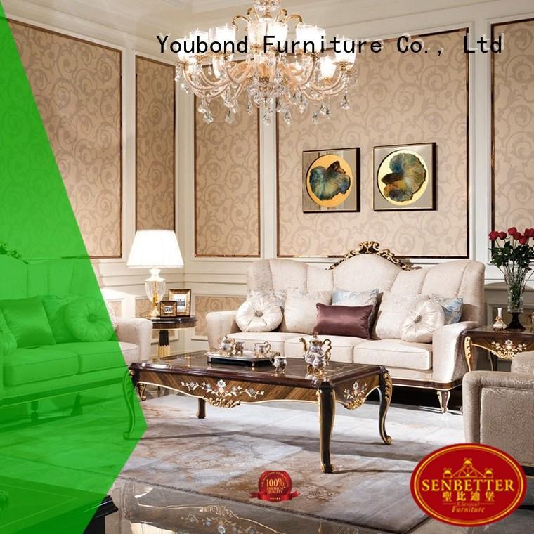 white living room furniture living classic design Senbetter Brand classic living room furniture