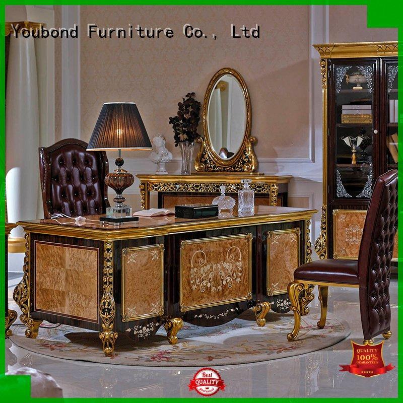 desk furniture carved Senbetter Brand classic office furniture