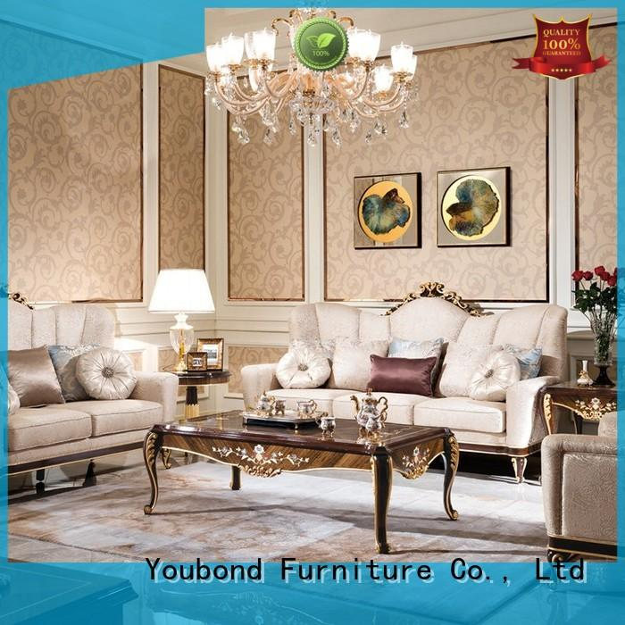 Senbetter classical living room furniture classic style with long dining table for villa