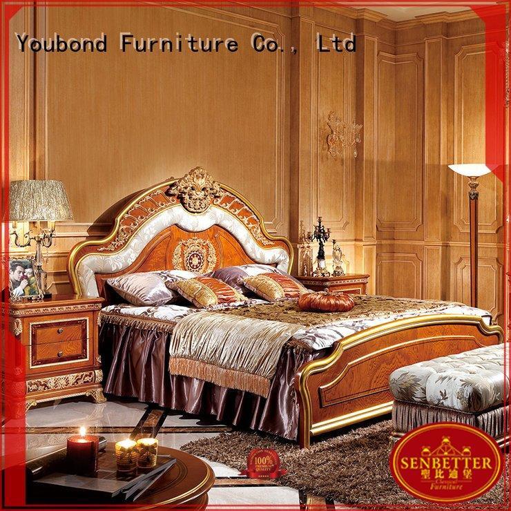 Senbetter oak bedroom furniture simple gross wood design