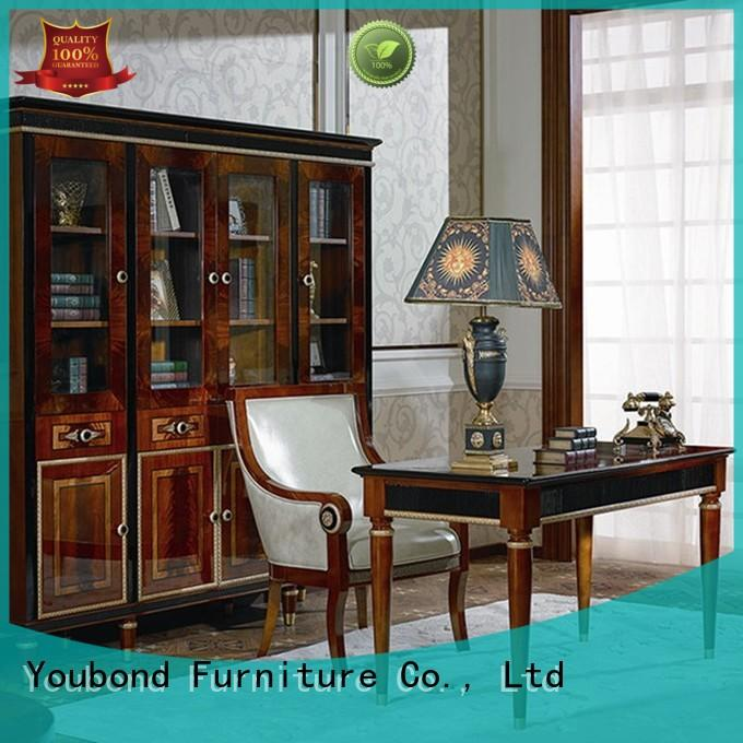 mahogany office furniture with office chair for company Senbetter