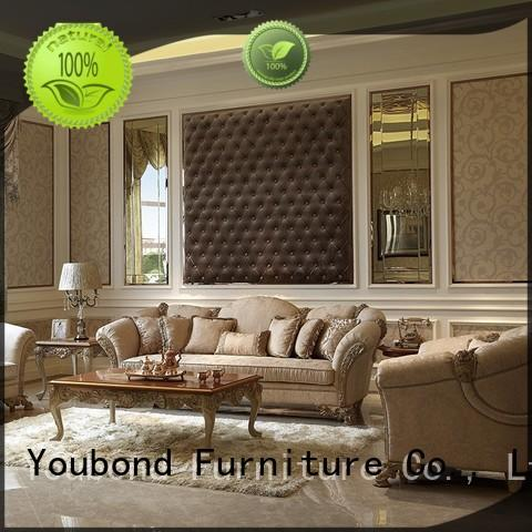 flower dubai wood carving classic living room furniture Senbetter