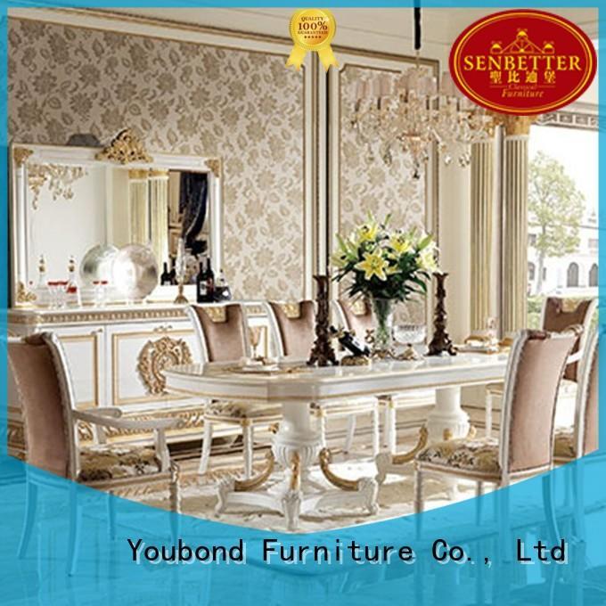 solid wood wood dining table set manufacturer for hotel