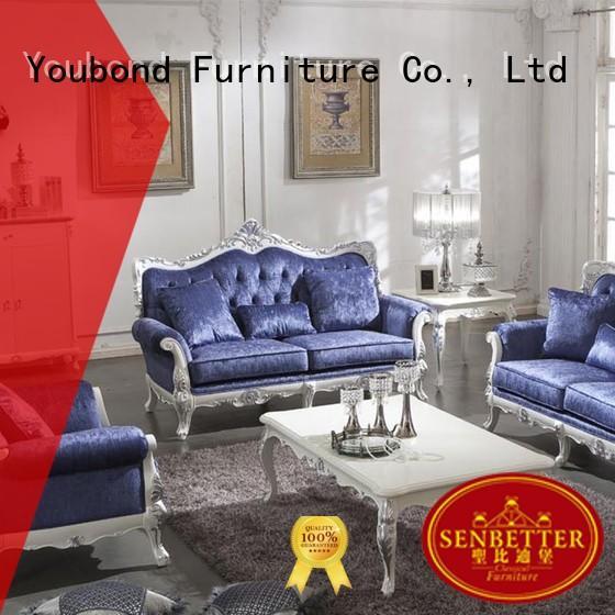 Hot white living room furniture latest Senbetter Brand