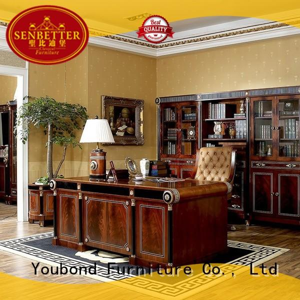 room study classic office furniture antique Senbetter Brand