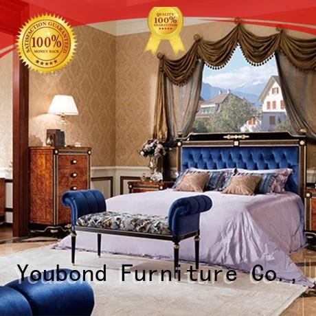 Senbetter new classic furniture with shiny brass accessory decoration for decoration