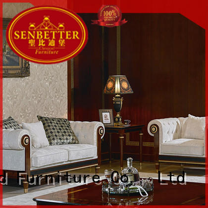 Wholesale wood white living room furniture delicate Senbetter Brand