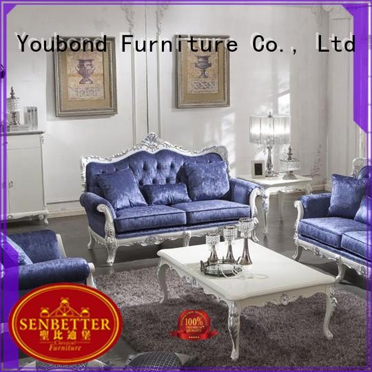 Senbetter best three piece living room set with mirror of buffet for hotel
