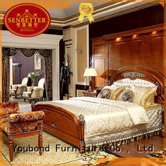 custom good quality bedroom furniture factory for decoration