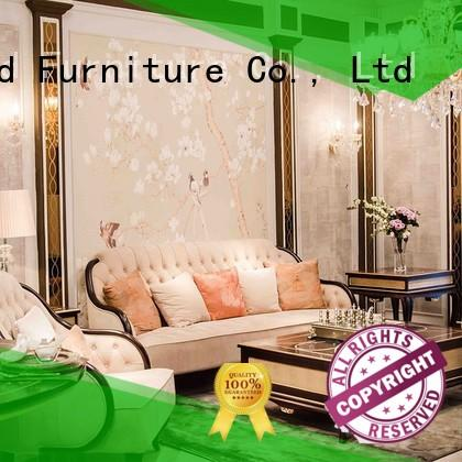 high-quality high end living room furniture with mirror of buffet for hotel