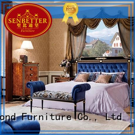 Senbetter royal italian bedroom furniture with chinese element for royal home and villa