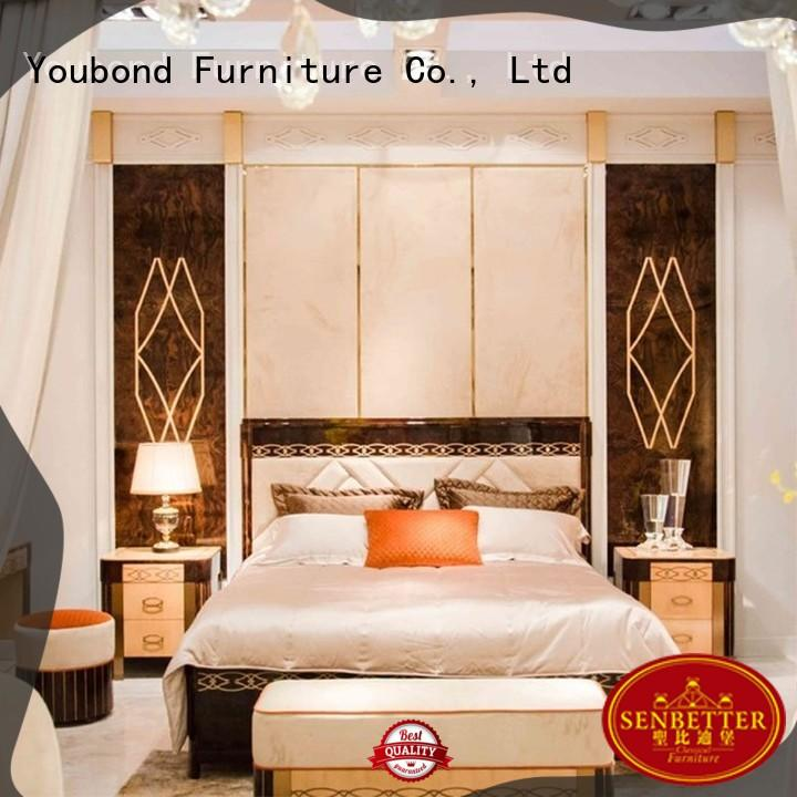 high end solid wood bedroom furniture with solid wood table and chairs for decoration