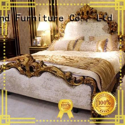 italian style luxury bedroom furniture with chinese element for decoration