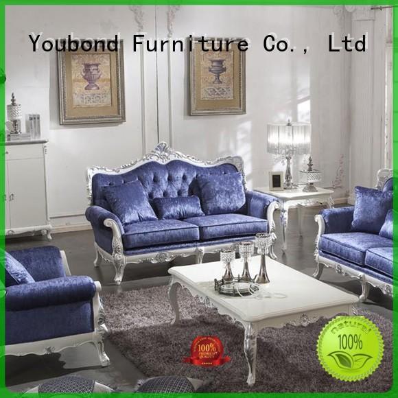 baroque wood living classic living room furniture Senbetter Brand