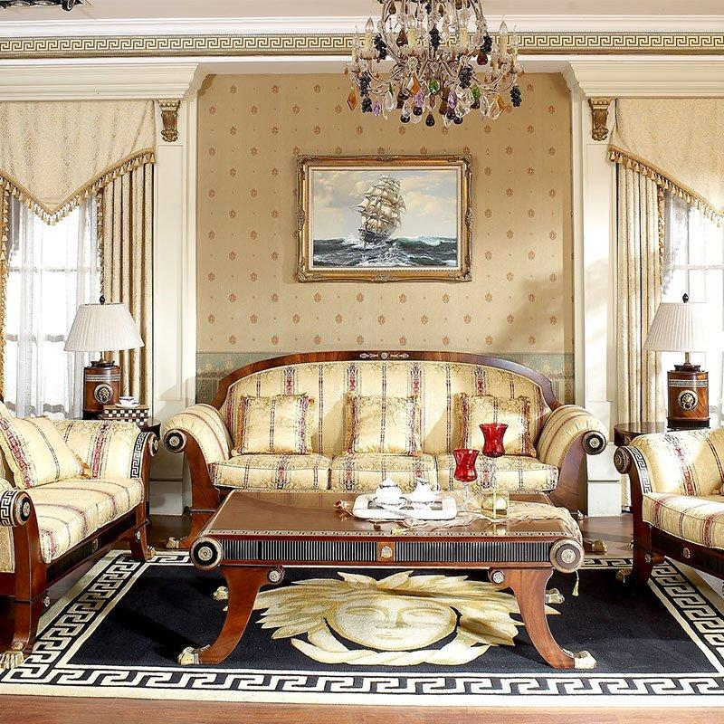 classic living room furniture & king size bedroom furniture sets