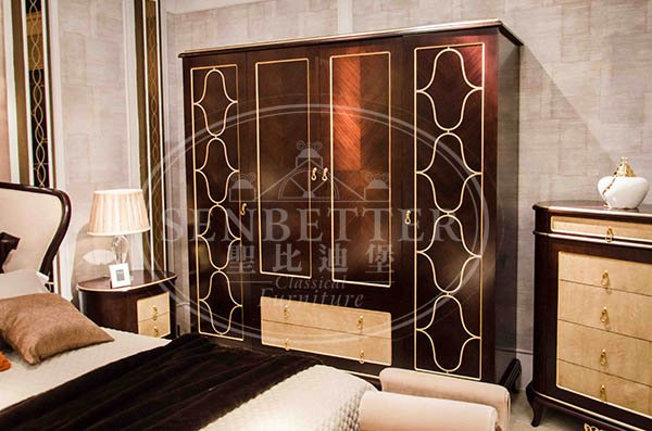 Senbetter neo japanese bedroom furniture company for royal home and villa-4