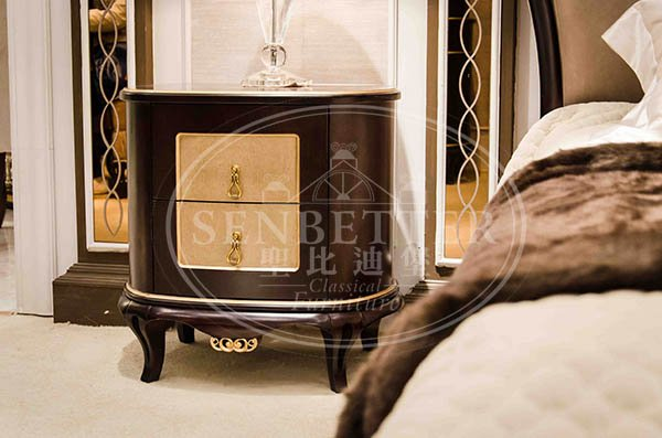 Senbetter neo japanese bedroom furniture company for royal home and villa-6