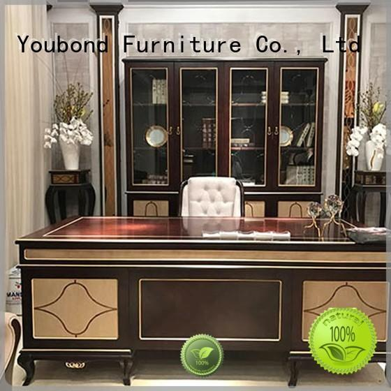 office table high end office furniture with bookcase for hotel Senbetter
