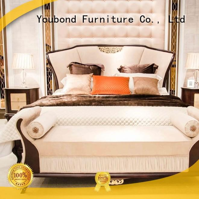 beech mahogany simple Senbetter Brand solid wood bedroom furniture