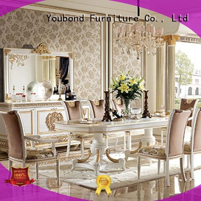 room european wood Senbetter Brand classic dining room furniture supplier