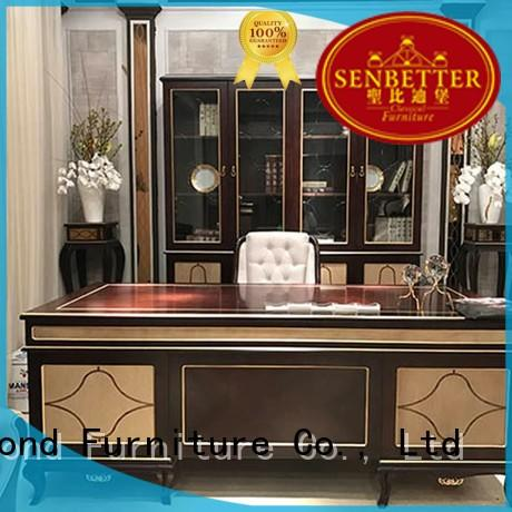 solid european desk furniture Senbetter manufacture