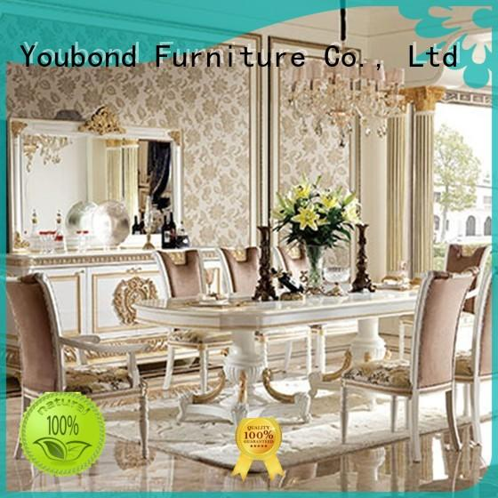 Senbetter buffet solid wood dining room table and chairs manufacturer for home