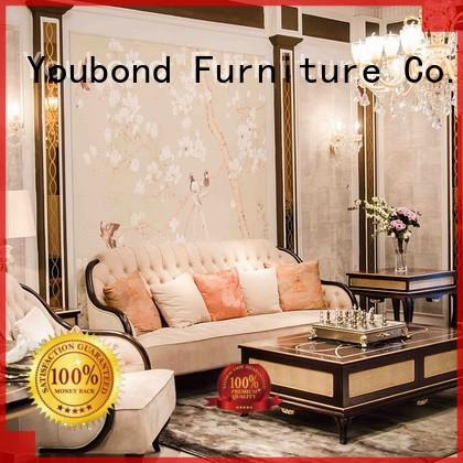 Senbetter italian high end living room furniture with solid wood chair for home