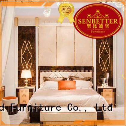 Senbetter classic wood bedroom furniture for business for royal home and villa