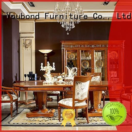 elegant classic dining room furniture sets with buffet for villa