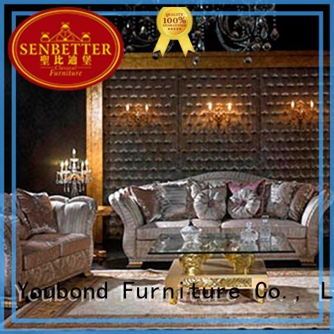 luxury style classic living room furniture design Senbetter Brand