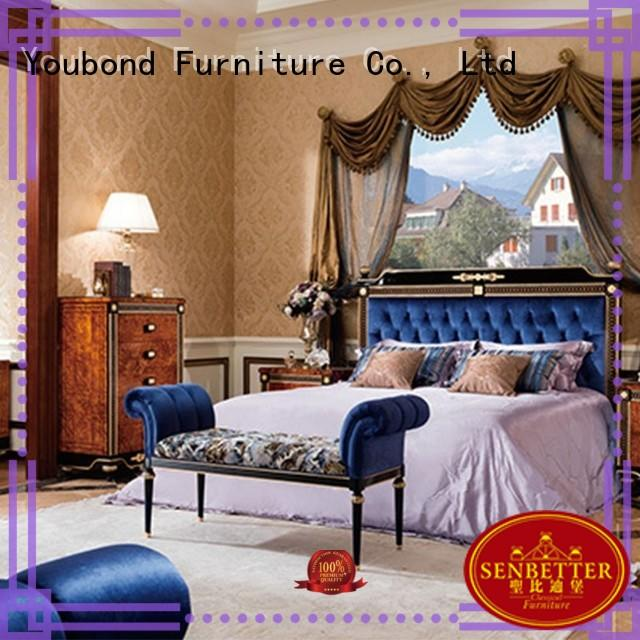 Senbetter white painted bedroom furniture manufacturers for decoration