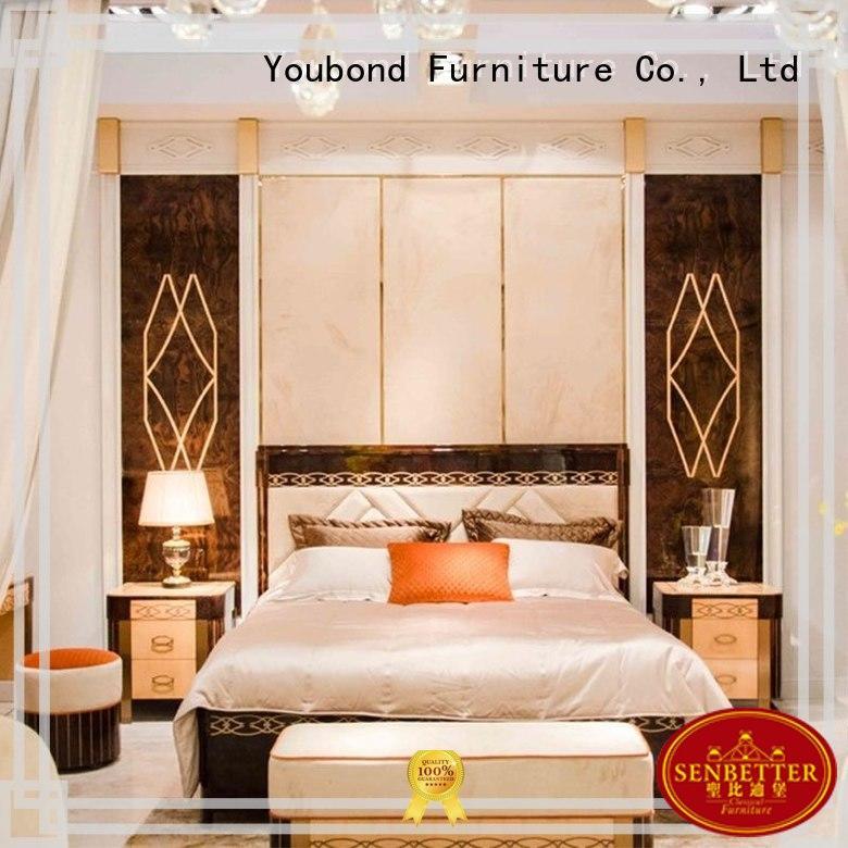 classic beech oak bedroom furniture Senbetter Brand