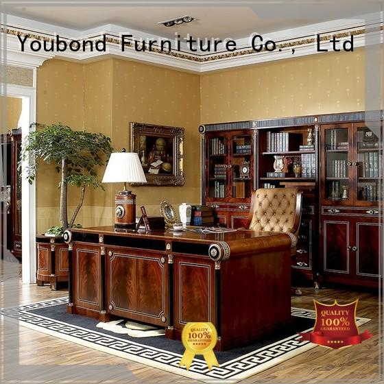 solid wood european classic office furniture antique Senbetter Brand