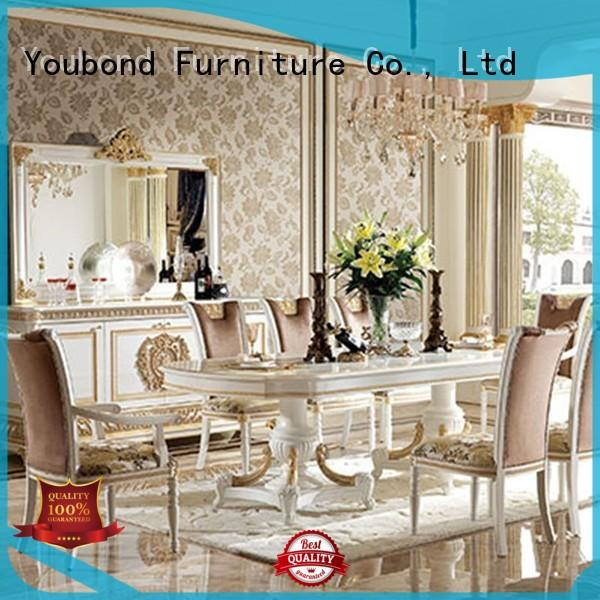 solid collection classic dining room furniture spanish Senbetter Brand