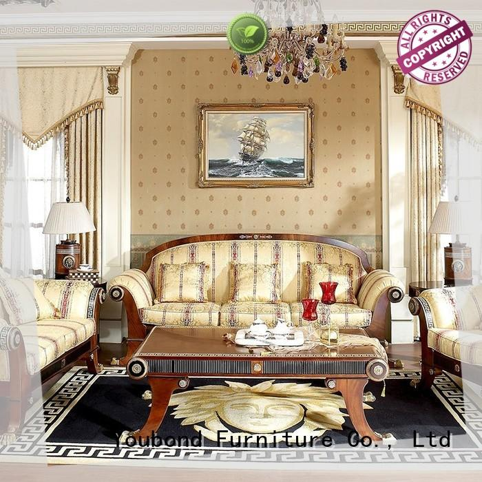 Senbetter european luxury living room furniture with long dining table for hotel