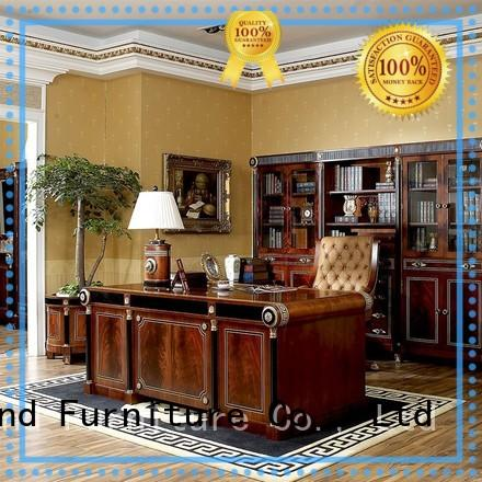 Spain Antique Beech Classic Style Wooden Furniture For Home/ Company Office Desk 0010