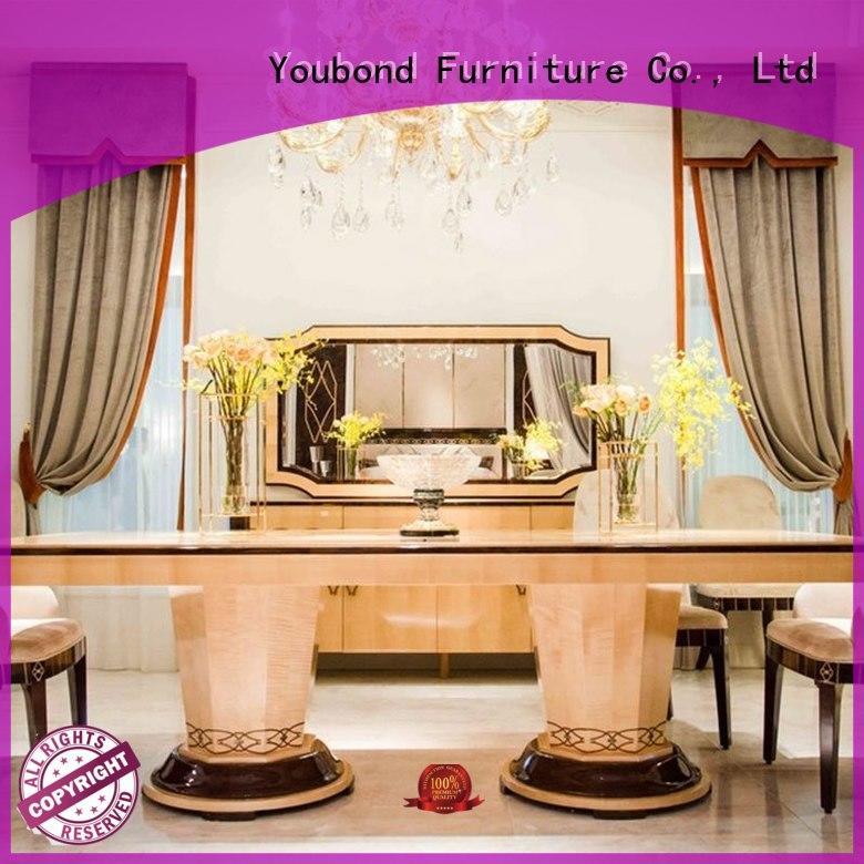 Senbetter classic dining room furniture sets manufacturer for villa
