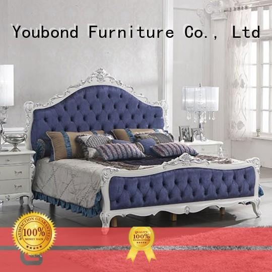 Senbetter luxury bedroom furniture with solid wood table and chairs for decoration